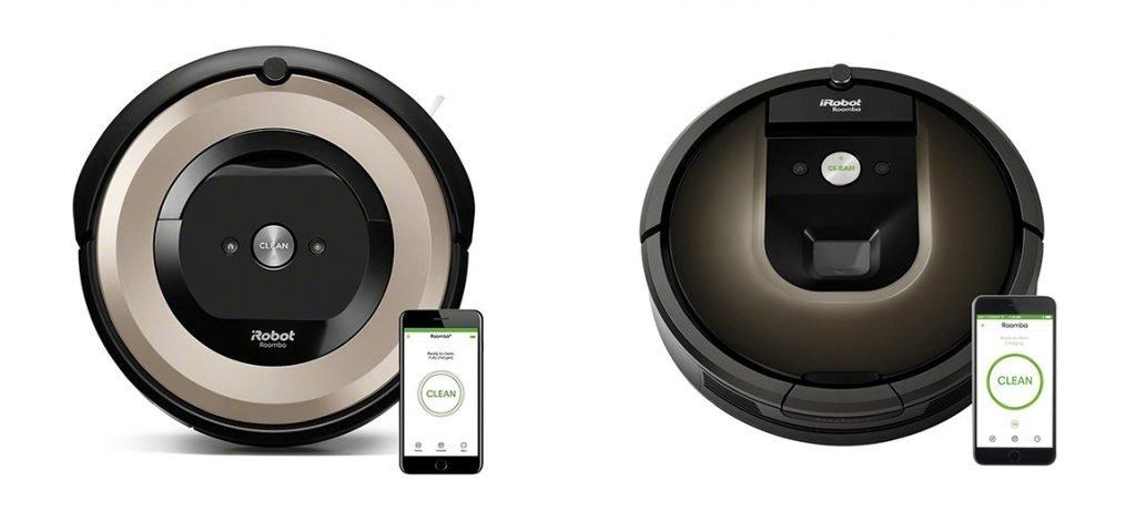Roomba e6 vs 985 Design