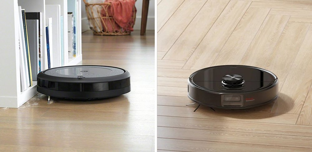 Roomba i3 vs Roborock S6 MaxV Robot Vacuum Comparison