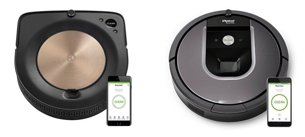 Roomba s9 vs 960 Design