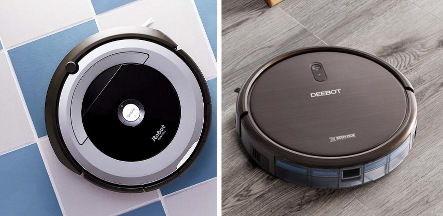 Roomba vs deebot (1)