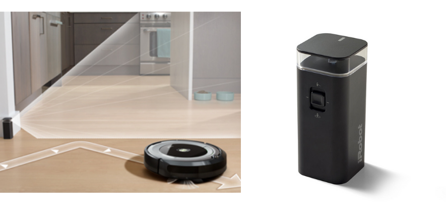Roomba virtual wall barrier