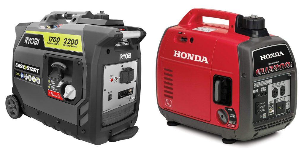 Ryobi vs Honda Generator Engine and Power