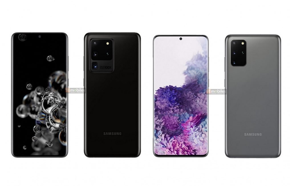 Samsung Galaxy S20 Ultra 5G vs Galaxy S20+ 5G Design