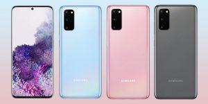 Samsung Galaxy S20 vs Galaxy S20+ Comparison
