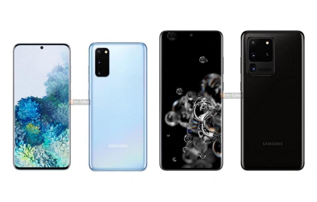 Samsung Galaxy S20 vs Galaxy S20 Ultra Design