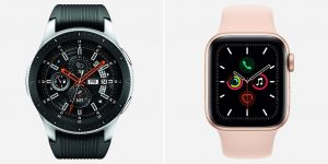 Samsung Galaxy Watch 2 vs Apple Watch 5 Comparison