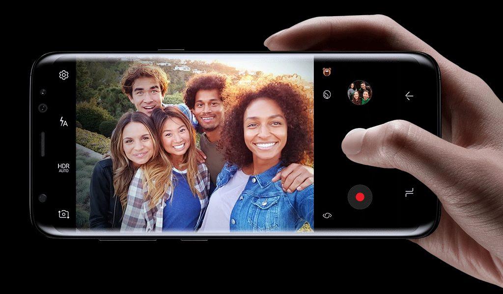 Samsung S8 Cameras