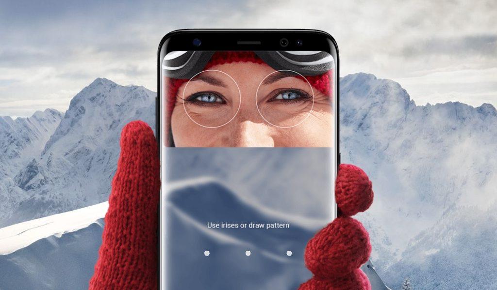 Samsung S8 Iris Scanner