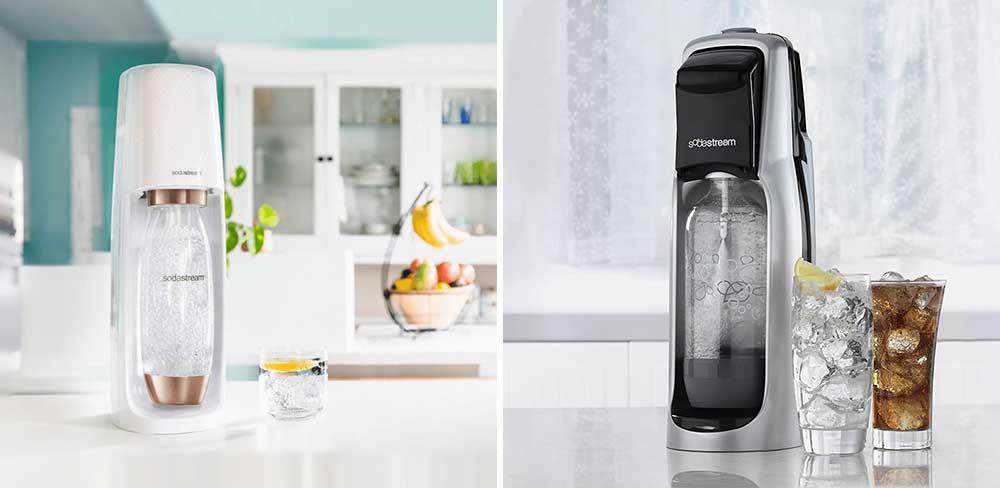 SodaStream Fizzi vs Jet Soda Machine Comparison