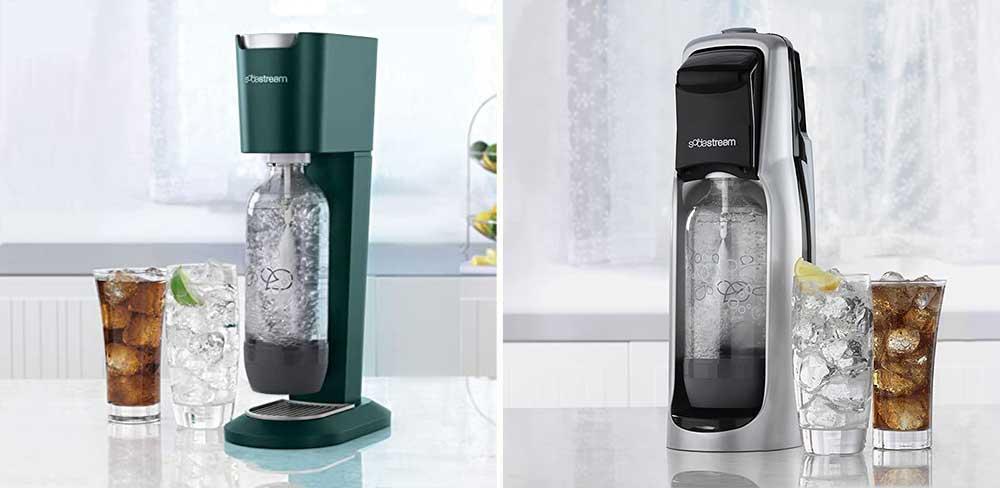 SodaStream Genesis vs Jet Soda Machine Comparison