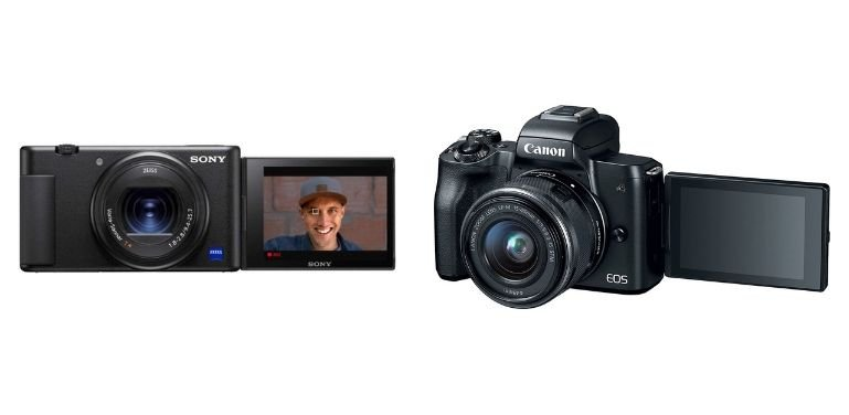 Sony ZV1 vs Canon M50 image stabilization