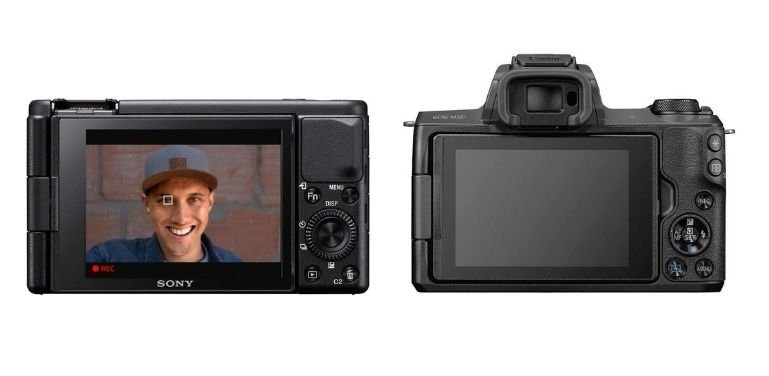 Sony ZV1 vs Canon M50 video quality