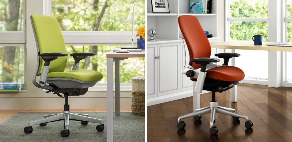 Steelcase Amia vs Leap Office Chair Comparison
