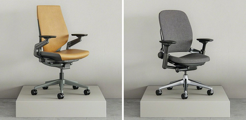 Steelcase Gesture vs Leap Office Chair Comparison