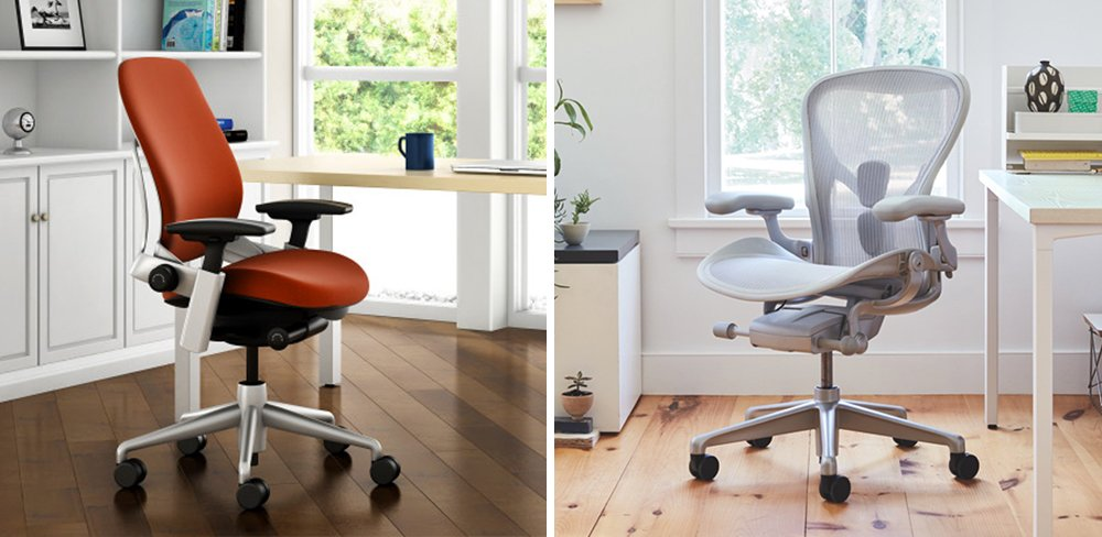 Steelcase Leap vs Aeron Comparison