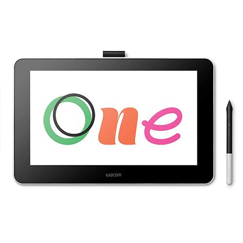 Wacom One Digital Drawing Tablet with Screen