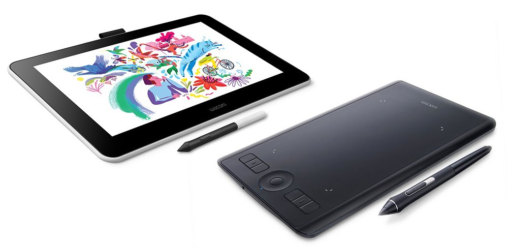 Wacom One vs Intuos Pro Drawing Tablet Comparison