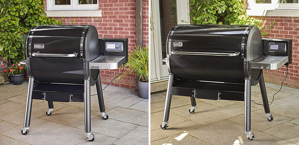 Weber EX4 vs EX6 SmokeFire Wood Fired Pellet Grill Comparison