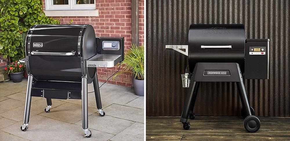 Weber SmokeFire vs Traeger Ironwood Wood Pellet Grill Comparison