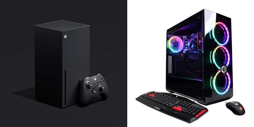 Xbox Series X vs PC Design