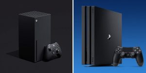 Xbox Series X vs PS4 Pro Gaming Console Comparison