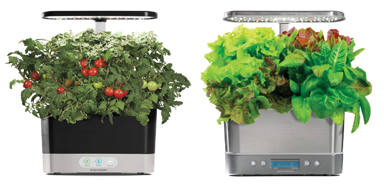 AeroGarden Harvest vs Harvest Elite Design and Features Comparison