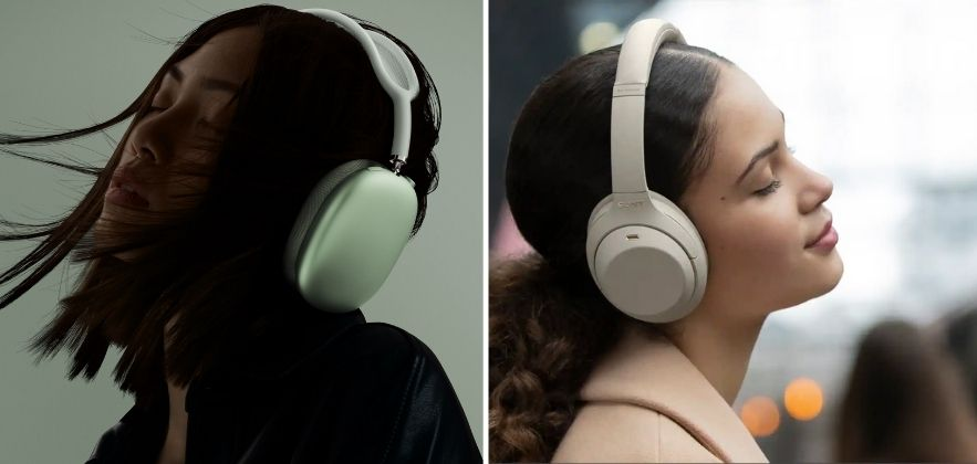 airpods max vs sony wh-1000xm4 featured