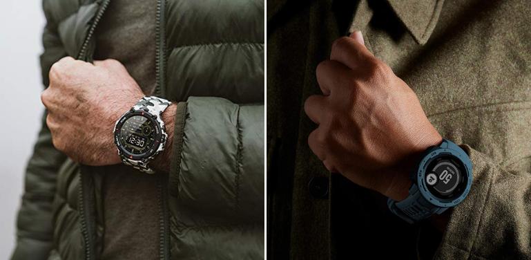 Amazfit T-Rex vs Garmin Instinct Outdoor Watch Comparison