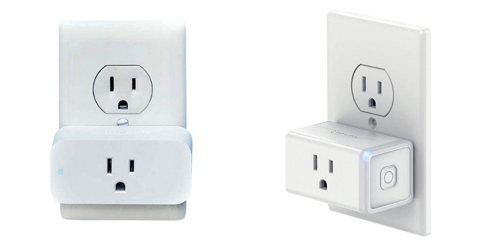Amazon Smart Plug and Kasa Smart Wi-Fi Plug Mini