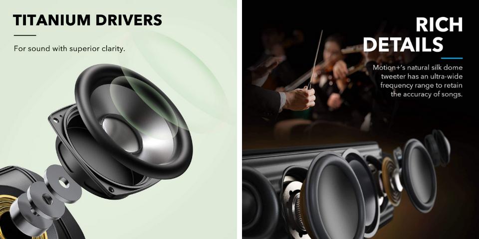Anker Soundcore Motion Boom vs Motion Plus Sound