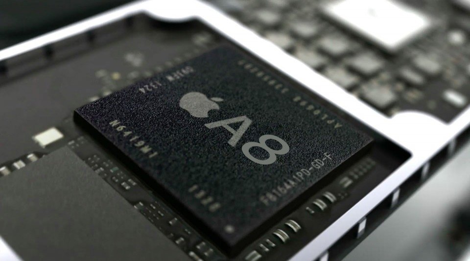 apple a8 chipset