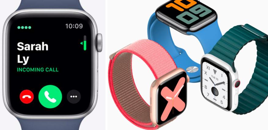apple watch 5 cellular vs gps smartwatch