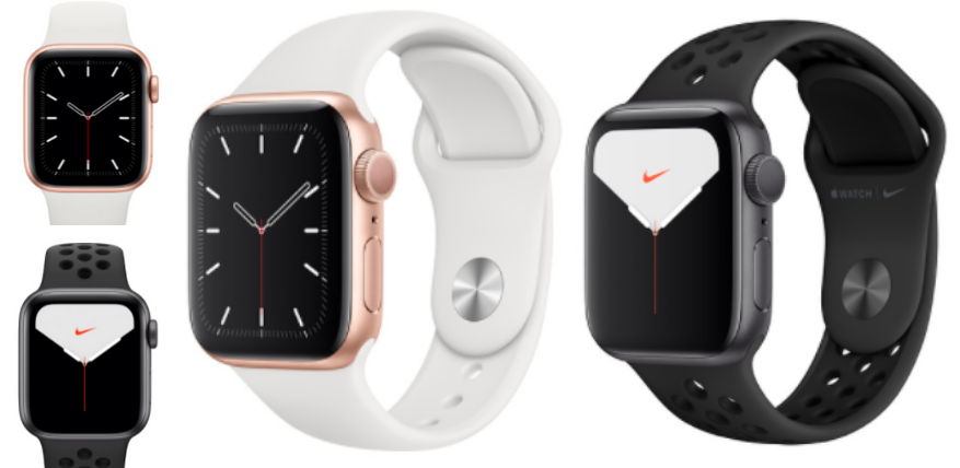 apple watch 5 vs nike difference