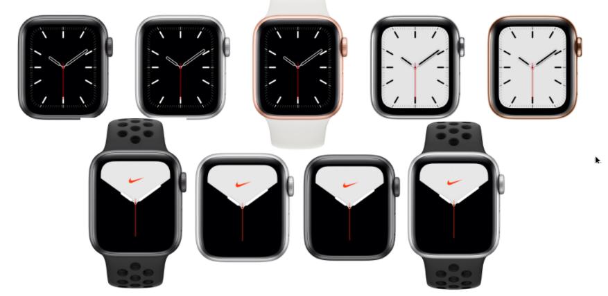apple watch 5 vs nike edition aluminum case