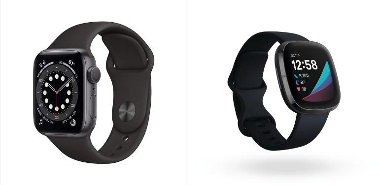 Apple Watch Series 6 vs Fitbit Sense