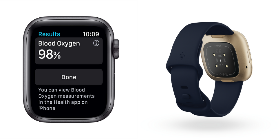 Apple Watch Series 6 vs Fitbit Versa 3 Health and Fitness Features