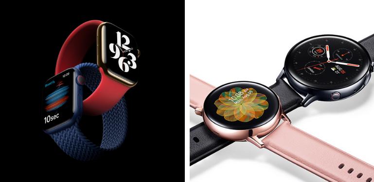 Apple Watch Series 6 vs Samsung Galaxy Active 2