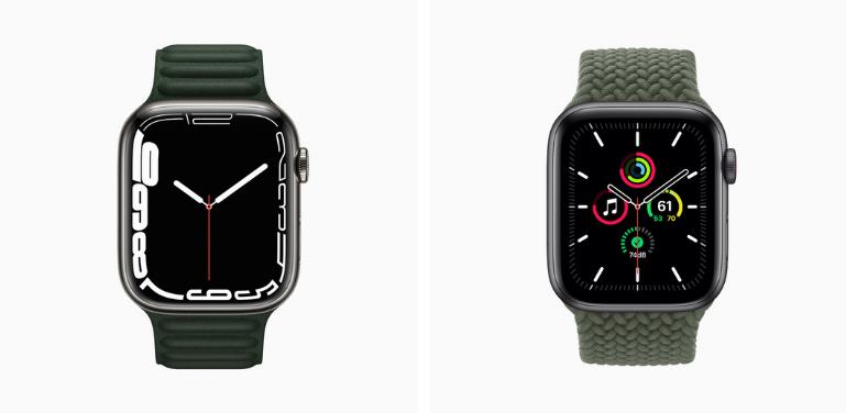 Apple Watch Series 7 vs SE