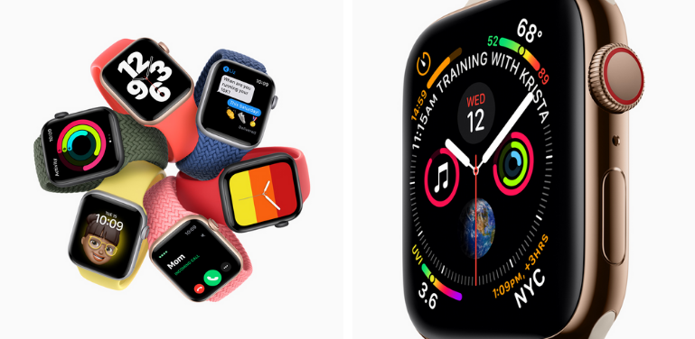 Apple Watch Series SE vs Series 4