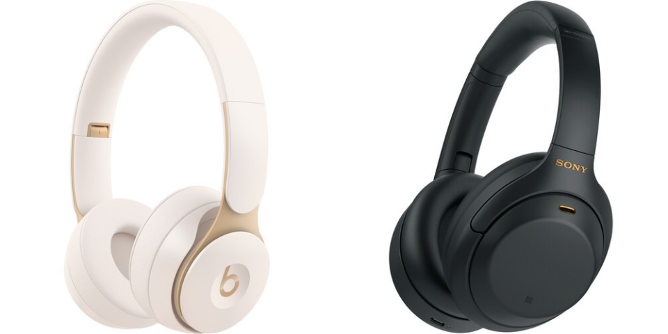 beats solo pro vs sony wh-1000xm4 design