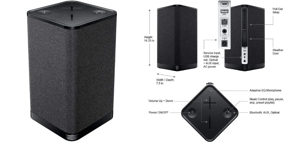 best Bluetooth speaker for bass
