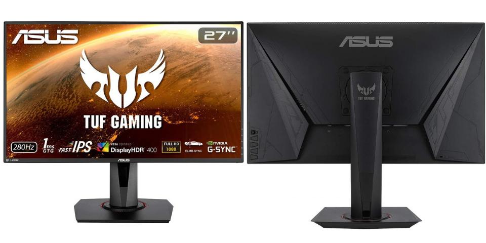 best gaming monitor ASUS VG279QM