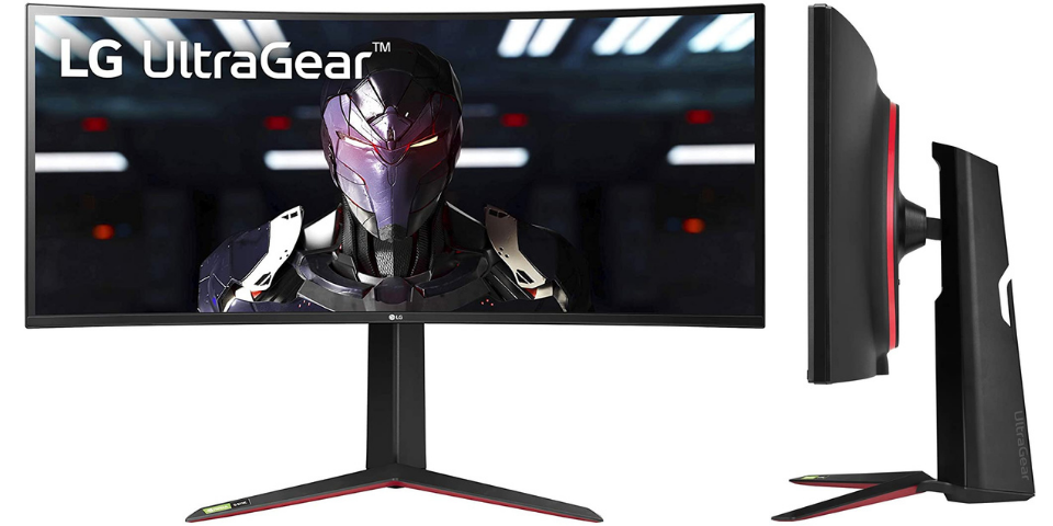 best gaming monitor LG 34GN850-B