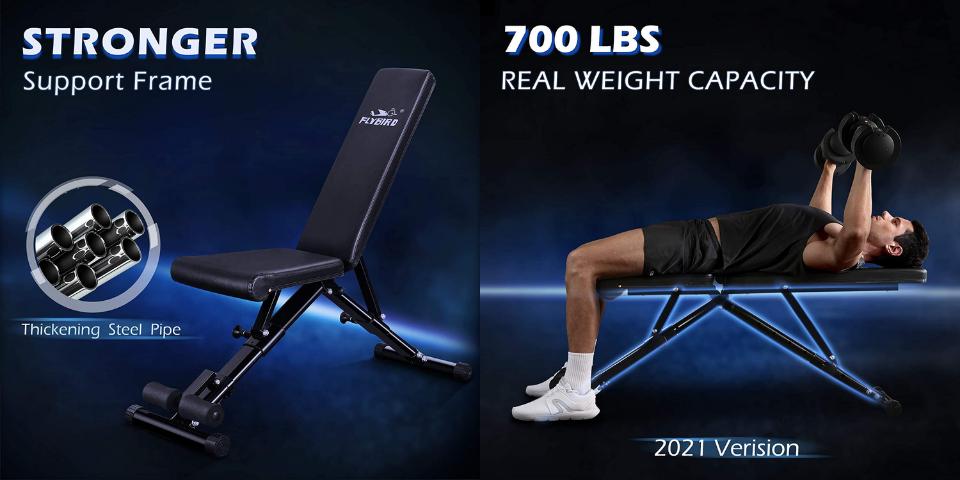 best home gym equipment bench