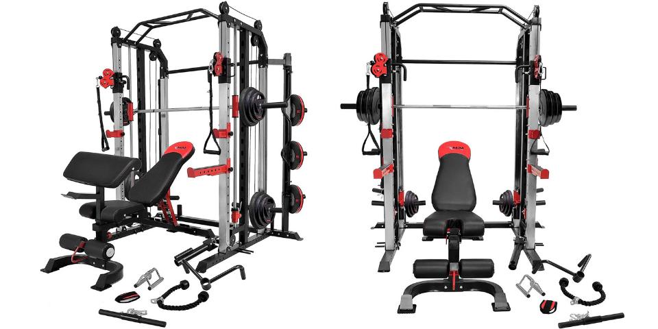 best home gym equipment weight machine