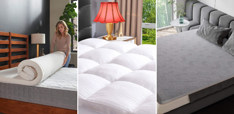 Best Mattress Pads and Toppers For Back Pain Review