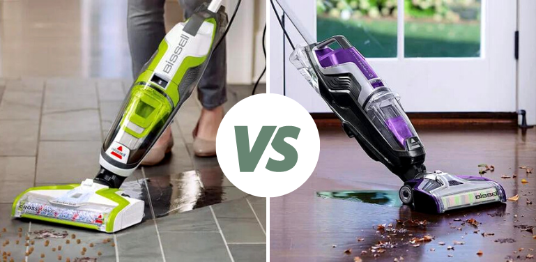 bissell crosswave all in one vs pet pro