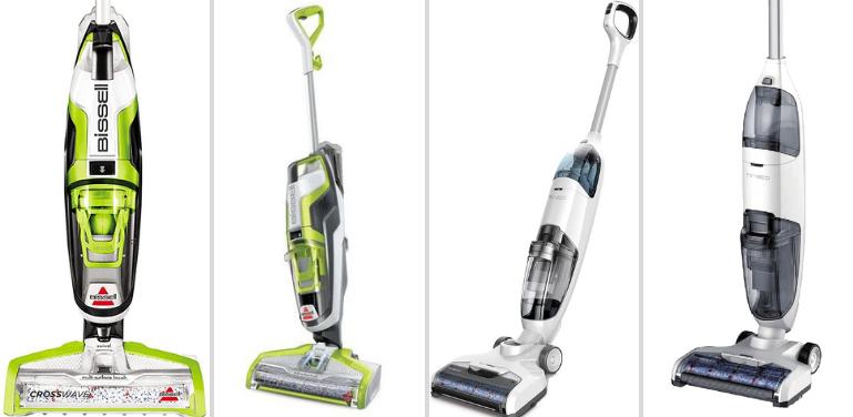 Bissell CrossWave vs Tineco iFloor Wet Dry Vacuum Design