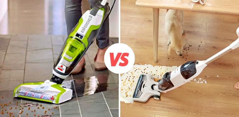 Bissell CrossWave vs Tineco iFloor Vacuum Comparison
