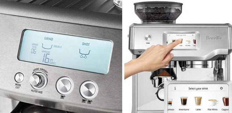 breville barista pro vs touch espresso machine (1)